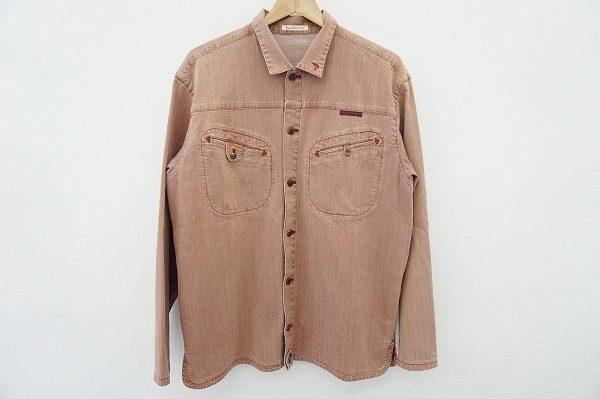 ヴィンテージ感漂うこなれた雰囲気のパパスの長袖シャツを宅配買取いたしました