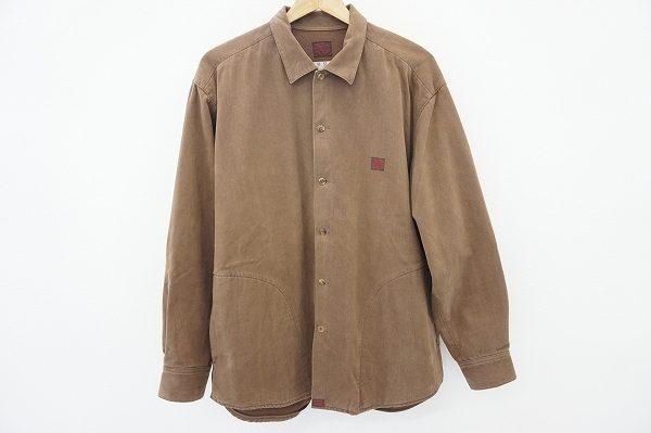 あたたかみのある色と素材でこれからの季節にピッタリ!パパスの長袖シャツを出張買取いたしました