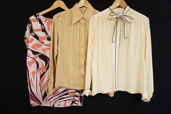 エミリオ・プッチやレオナール、シャネル、セリーヌの女性らしい品のあるお洋服をまとめて宅配買取いたしました