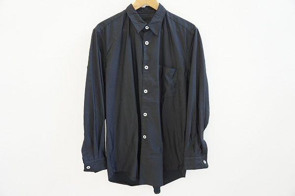 シンプルだからこそ上質さがわかるコムデギャルソンのメンズシャツをお譲りいただきました