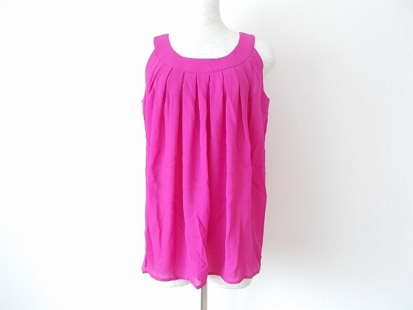 イヴサンローランYSLの綺麗なピンクのノースリーブカットソーをお売りいただきました