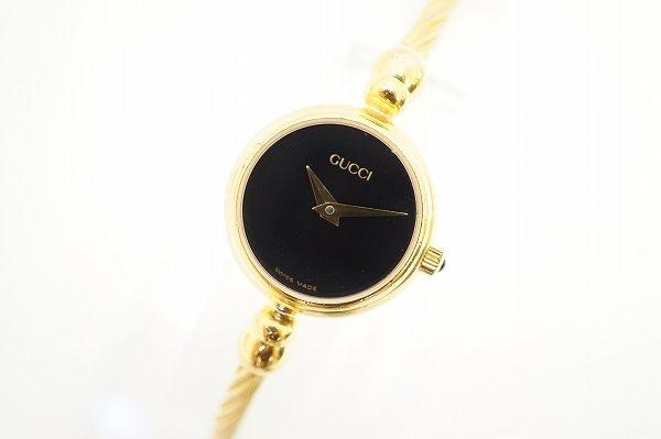 上品でスタイリッシュなグッチの時計を買取いたしました
