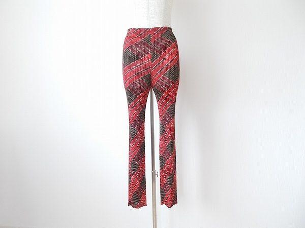 高い機能性とファッション性を両立したプリーツプリーズのパンツを買取いたしました