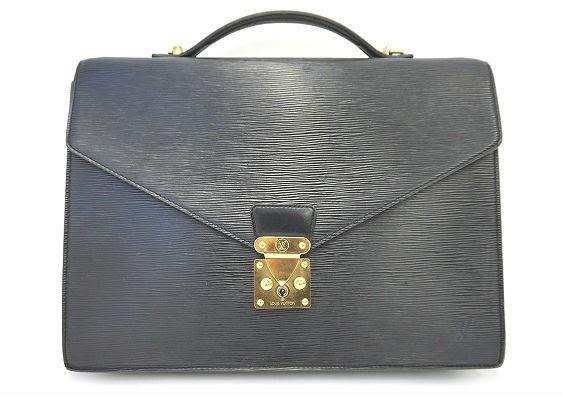 艶やかな黒が働く男性をスマートに演出してくれるメンズ用ビジネスバッグ!ルイ・ヴィトン LOUIS VUITTON