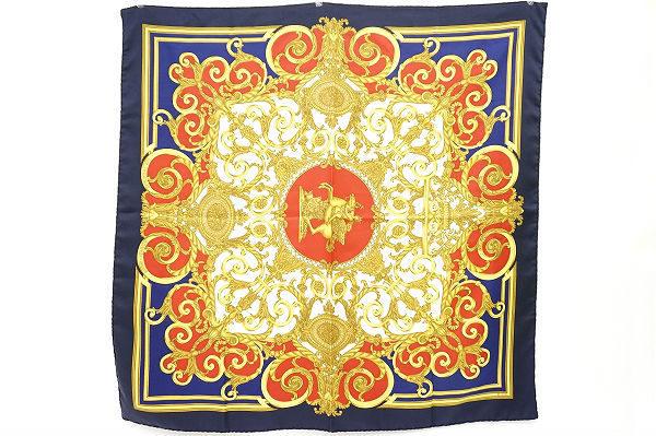 ゴージャスで力強いエルメスのスカーフを買取いたしました
