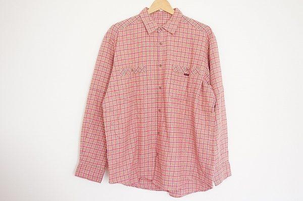 明るめ秋冬カジュアルスタイルに使いたい、パパスのネルシャツを買取いたしました