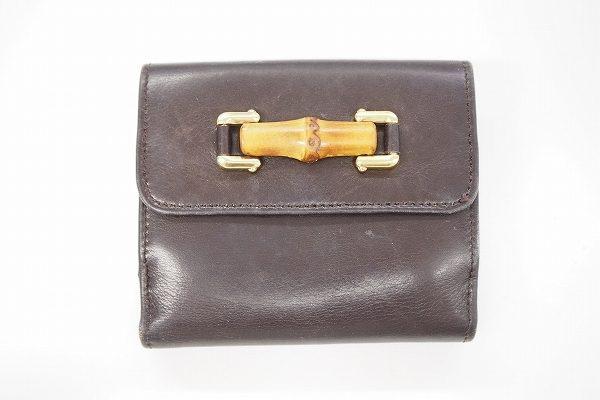 コンパクトで収納力抜群、グッチの財布を買取いたしました