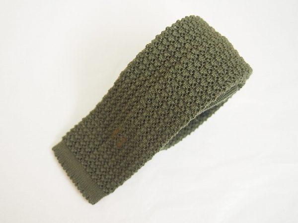 いつものネクタイと違う雰囲気を出せる、エルメスのニットネクタイを買取いたしました
