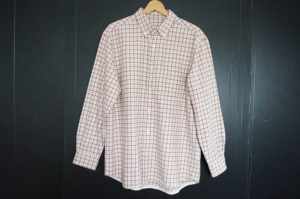 あたたかみカジュアルスタイルの代表、パパスのネルシャツを買取いたしました