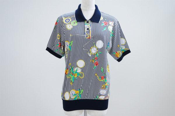 ポップな絵柄が可愛いレオナールのポロシャツを買い取りました