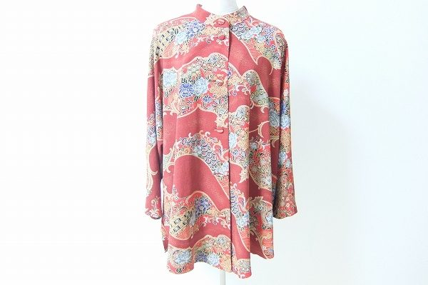 ゆるっと羽織って上品華やか、詩仙堂のジャケットを買取いたしました