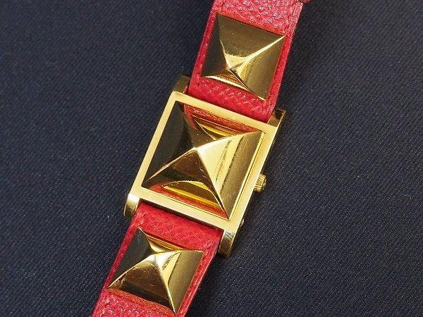 存在感があるのに品を感じられる!エルメス腕時計を買取しました